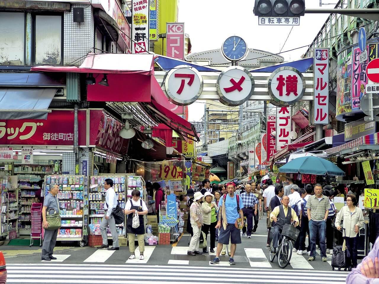 期間工がタクシー会社に転職して初めての3連休!東京中を遊び回りたい秋葉原から上野7話目